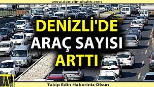 DENİZLİ'DE 10 BİNİN ÜZERİNDE OTOMOBİL SATILDI