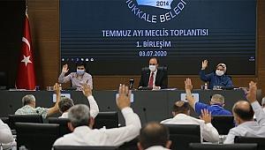 PAMUKKALE BELEDİYE MECLİSİ 3 AY ARADAN SONRA TOPLANDI