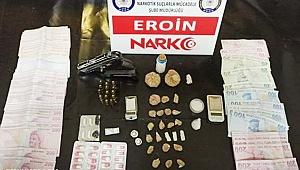 Uyuşturucu ticareti iddiasıyla 22 şüpheli tutuklandı