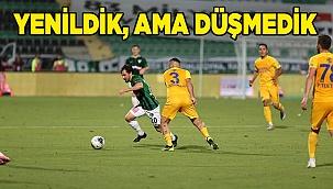 Yukatel Denizlispor: 0 - MKE Ankaragücü: 1