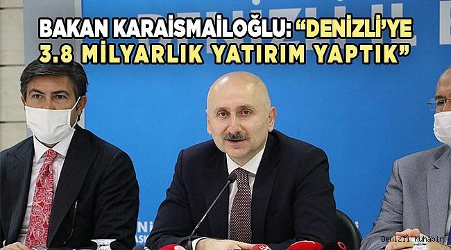 Bakan Karaismailoğlu, AK Parti Denizli İl Başkanlığı'nda konuştu: