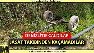 DENİZLİ'DE ÇALDILAR JASAT TAKİBİNDEN KAÇAMADILAR