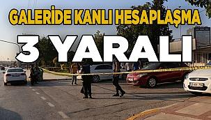Denizli'de oto galeride çıkan silahlı kavgada 3 kişi yaralandı