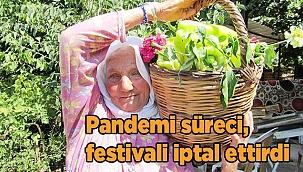 Pandemi süreci, festivali iptal ettirdi