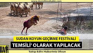 Sudan Koyun Geçirme Festivali 'Temsili' Olarak Yapılacak