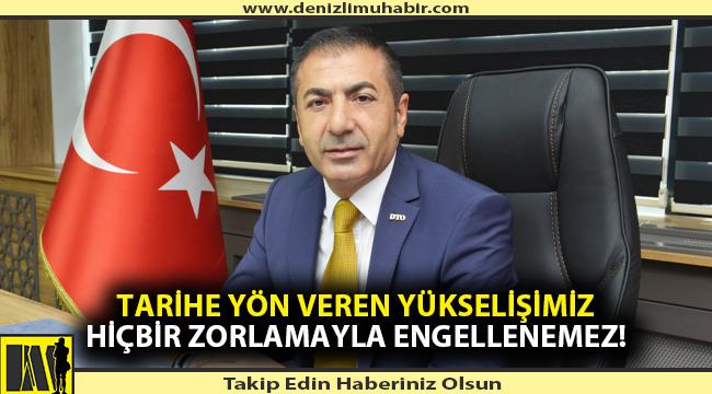 12 Eylül'ün yıl dönümünde DTO Başkanı Erdoğan'dan anlamlı mesaj