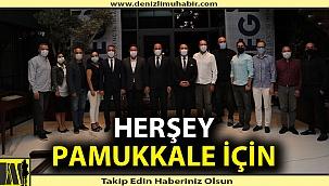 """Başkan Örki, """"Herşey Pamukkale için"""""""