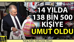 """""""Büyükşehir Sevgi Eli, 14 yılda 138.500 kişiye umut oldu"""""""