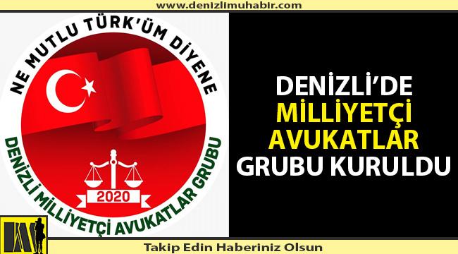 Denizli'de 'Milliyetçi Avukatlar' grubu kuruldu