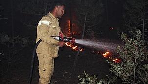 Denizli'deki yangında 10 hane boşaltıldı