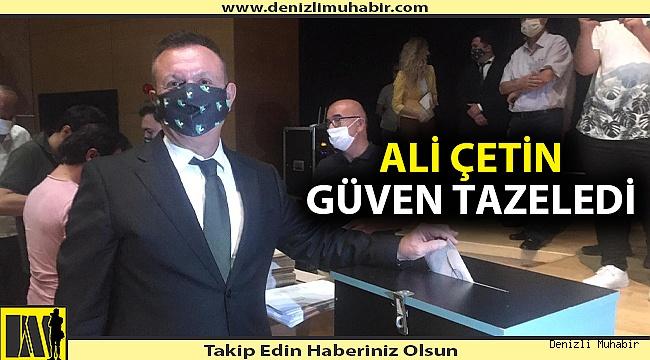 Denizlispor'da Ali Çetin yeniden başkan