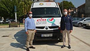 """""""EBA mobil destek aracı"""" Sarayköy'de hayata geçti"""