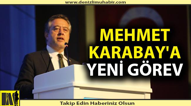 Eski Tavas Belediye Başkanı Karabay'a AK Parti'de önemli görev