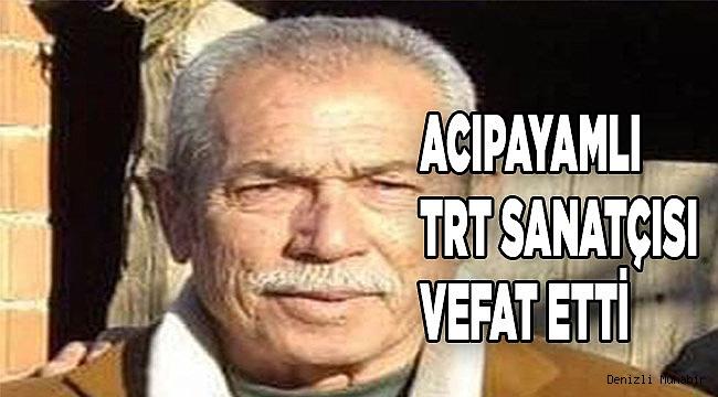TRT SAZ SANATÇISI SİNASİ USLU'YU KAYBETTİK