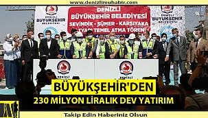 """""""Türkiye'nin en düzenli ve en yeni altyapısı Denizli'de"""""""