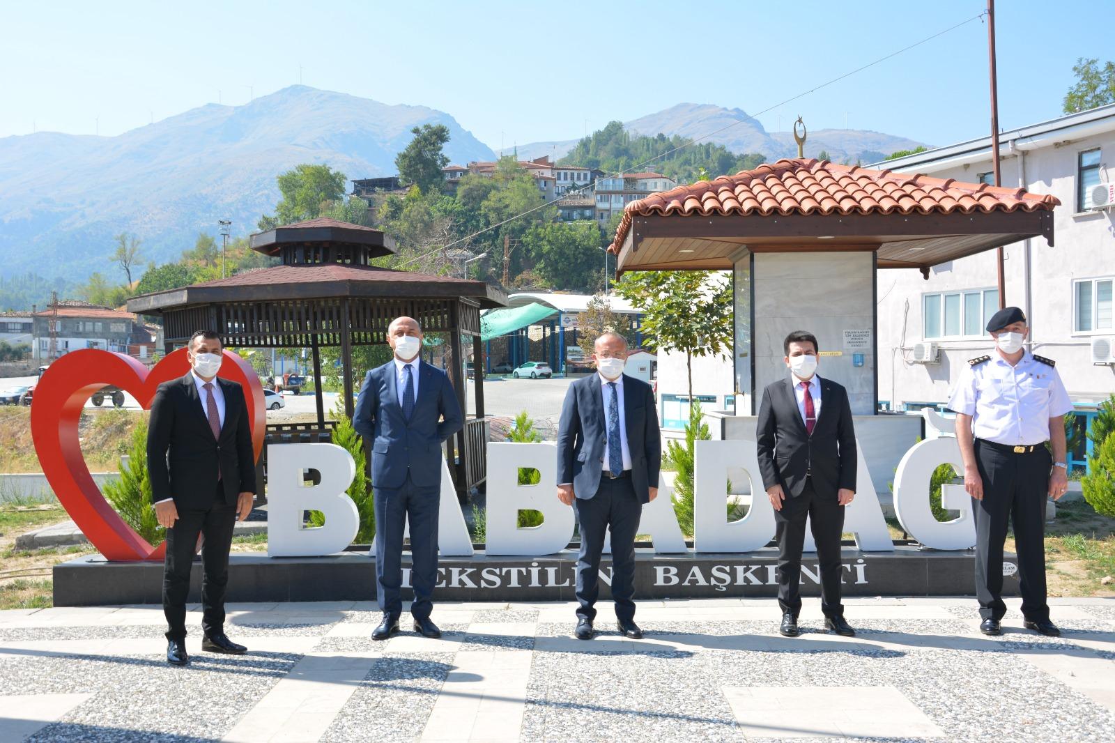 Vali Atik'ten Babadağ'a ziyaret