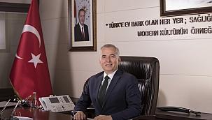 """Başkan Zolan, """"Mevlid Kandilinin huzur ve mutluluğuna vesile olmasını diliyorum"""""""