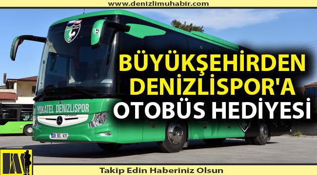 Büyükşehir'den Denizlispor'a sıfır otobüs