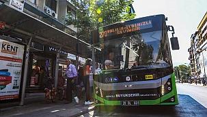 Büyükşehir otobüsleri KPSS'ye gireceklere ücretsiz