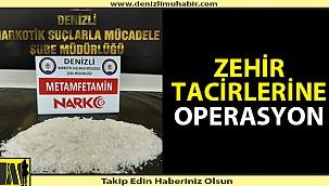 Denizli'de binlerce dolarlık uyuşturucu operasyonu