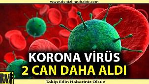 Denizli'nin ilçesinde korona virüs nedeniyle 2 kişi hayatını haybetti.