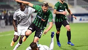 Horoz kendi evinde Beşiktaş'a yenildi