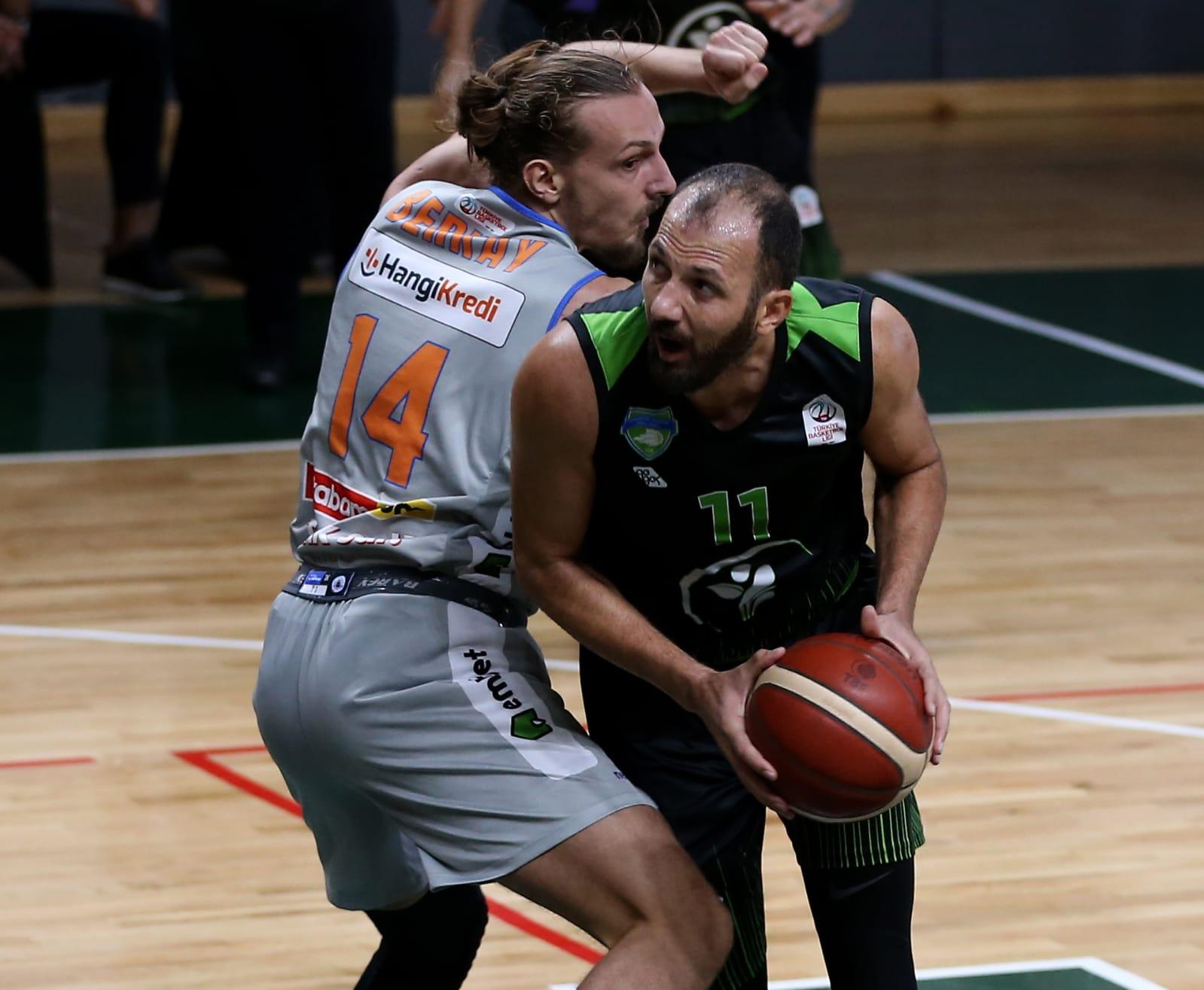 Merkezefendi Basket'i sakatlıklar yıktı