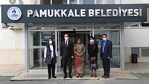 Pamukkale Belediyesi, Prof. Elizabeth Kiango Kiondo'yu ağırladı