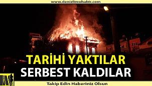 Tarihi yaktılar serbest kaldılar