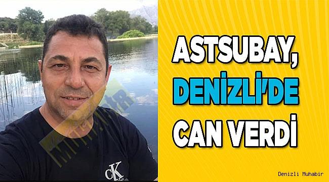 Astsubay, Denizli'de kazada hayatını kaybetti