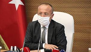 Denizli Valisi Atik, korona virüs tedbirleri konusunda açıklamada bulundu