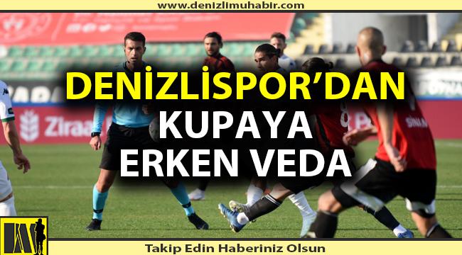 Denizlispor'dan erken veda