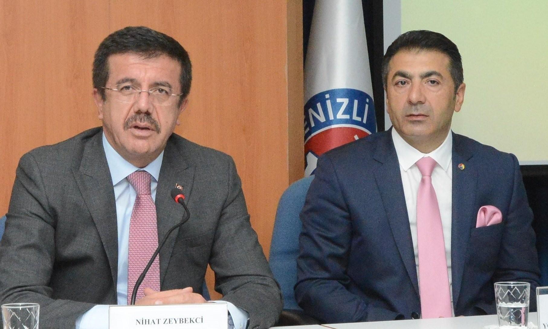 DTO Başkanı Erdoğan'dan Zeybekci'ye tebrik mesajı