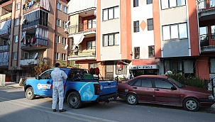 Pamukkale Belediyesi dezenfekte çalışmalarını arttırdı