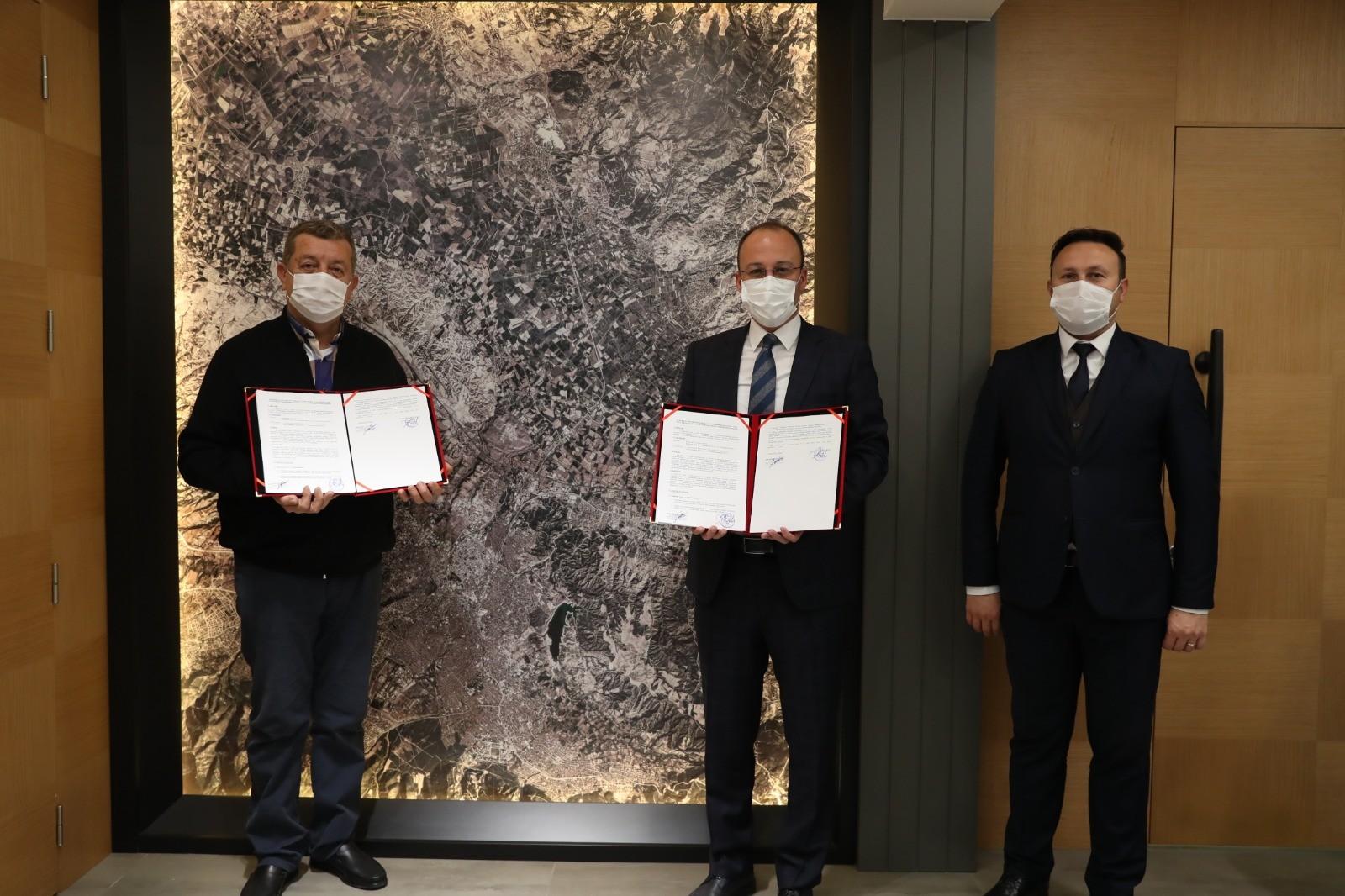 Pamukkale'de ambalaj atıkları toplama protokolü imzalandı