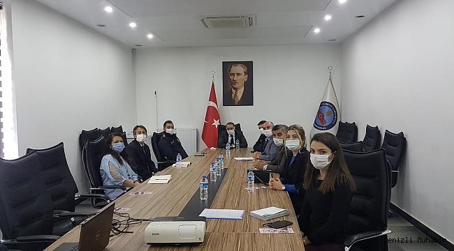 Sarayköy'ün kadına yönelik şiddetle mücadelesi konuşuldu