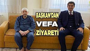 Başkan'dan VEFA Ziyareti