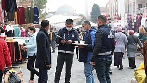 PAMUKKALE ZABITASI'NDAN PAZAR YERLERİNDE DENETİM