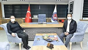 AK Parti Milletvekili Ök, Denizli Teknik Tekstil Merkezi'ni gezdi