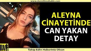 Aleyna cinayetinde can yakan detay