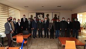 Başkan Zolan'dan 10 Ocak Çalışan Gazeteciler Günü ziyareti