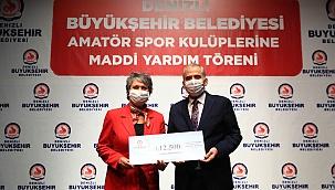 Büyükşehir'den 117 amatör spor kulübüne 1.200.000 TL