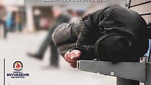 Büyükşehir evsizleri unutmuyor