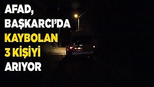 Denizli'de dağda kaybolan 3 kişi AFAD ekipleri tarafından aranıyor