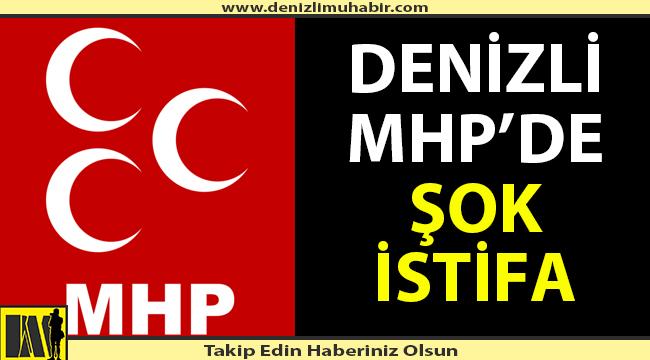 Denizli MHP'de şok istifa!