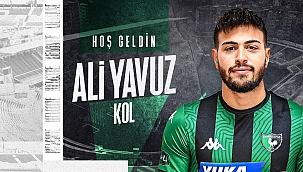 Denizlispor Ali Yavuz Kol'u kadrosuna kattı