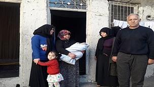 Kilis'te zor durumda olan aile yardım bekliyor