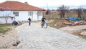 Kurtluca'nın sokakları çamurdan kurtuldu