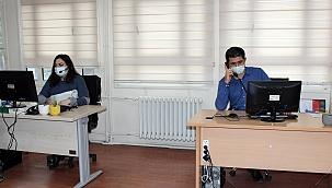 Pandemi döneminde vatandaşa psikolojik destek sağlıyorlar