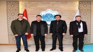 Aksaray Belediye Başkanı'na Yargıtay üyesinden ziyaret